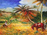 EL DESCANSO_AU CRAYÓN -  - DESSING ART 111