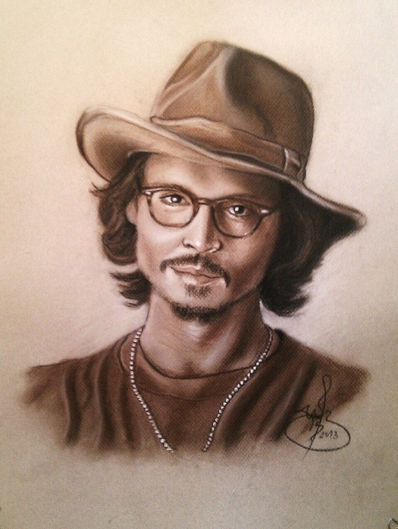 JOHNNY DEEP - Jcsustain - RETRATOS EN SEPIA