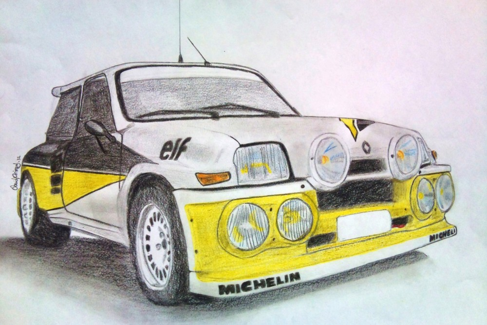 Renanult 5 Turbo Maxi - David Primas - Rallye Cars