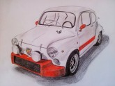 Seat 600 Abarth - David Primas - Rallye Cars