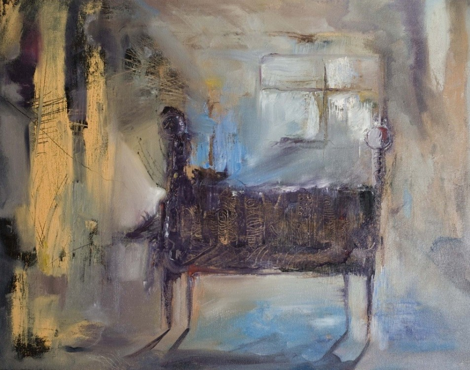Old sofa - Mixta/tela 2011 -  - Didier Galindo