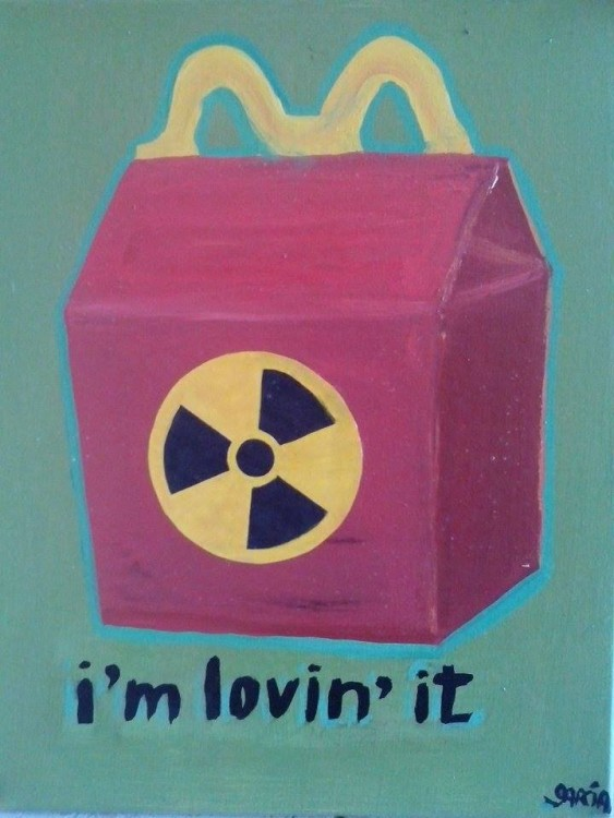 I´m lovin´it -  - Street Pop Art