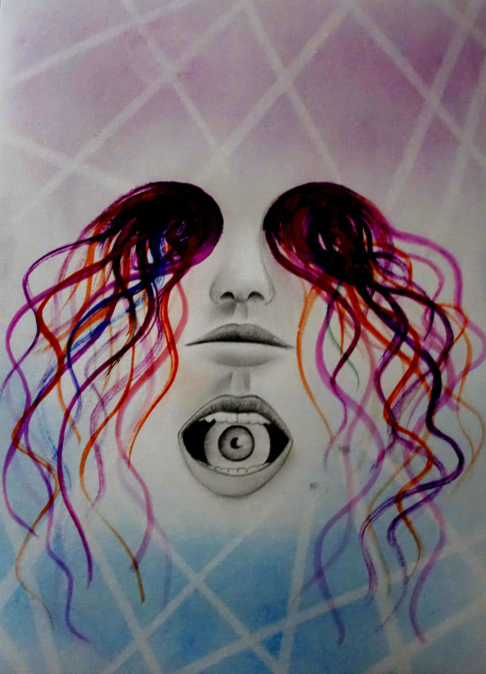 jelly eyes -  - dibujos