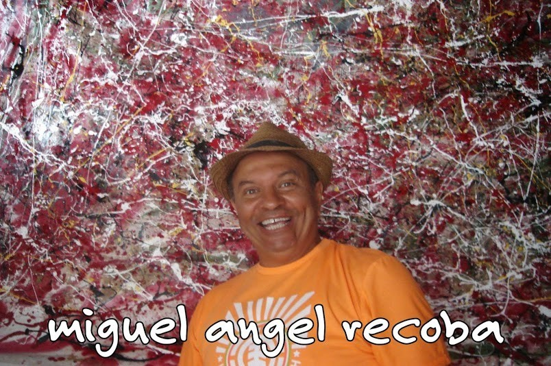 miguel angel recoba - action painting  - Miguel Angel Recoba - action painting - miguel angel recoba