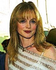 Heather Graham - 24x30cm - 2008 - Lámina - 150.- euros. - Luis Cebrián - Actrices II