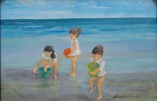 Children In Art - Anna Hurtado