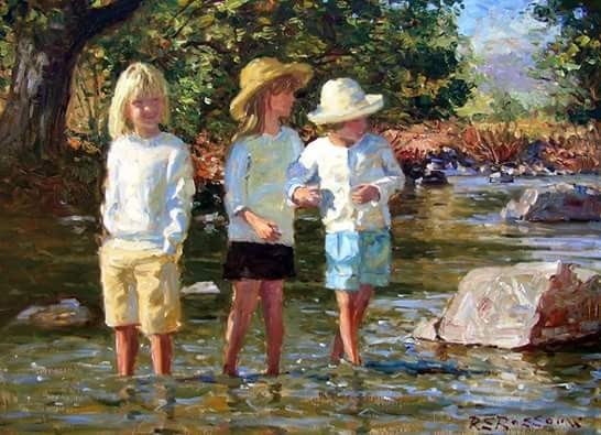 Children In Art - Roelof Rossovw
