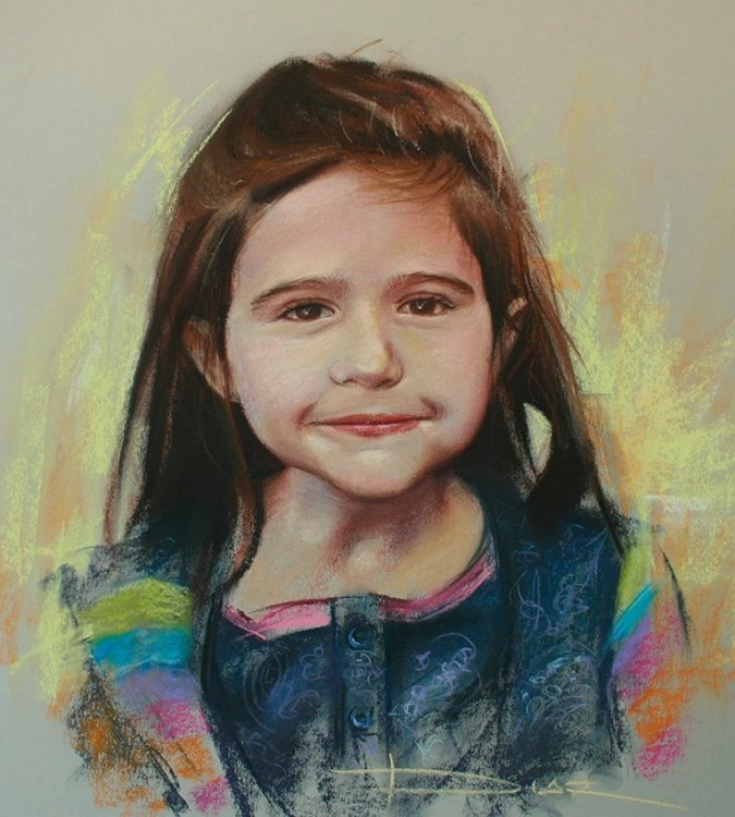 Children In Art - Dani Diaz