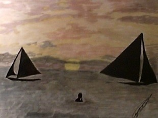 2 BARCOS -  - SONIA CAMPBELL ART GALLERY