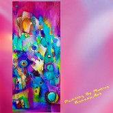 Abstractos, By Monica Renedo,Art -  - Abstracto