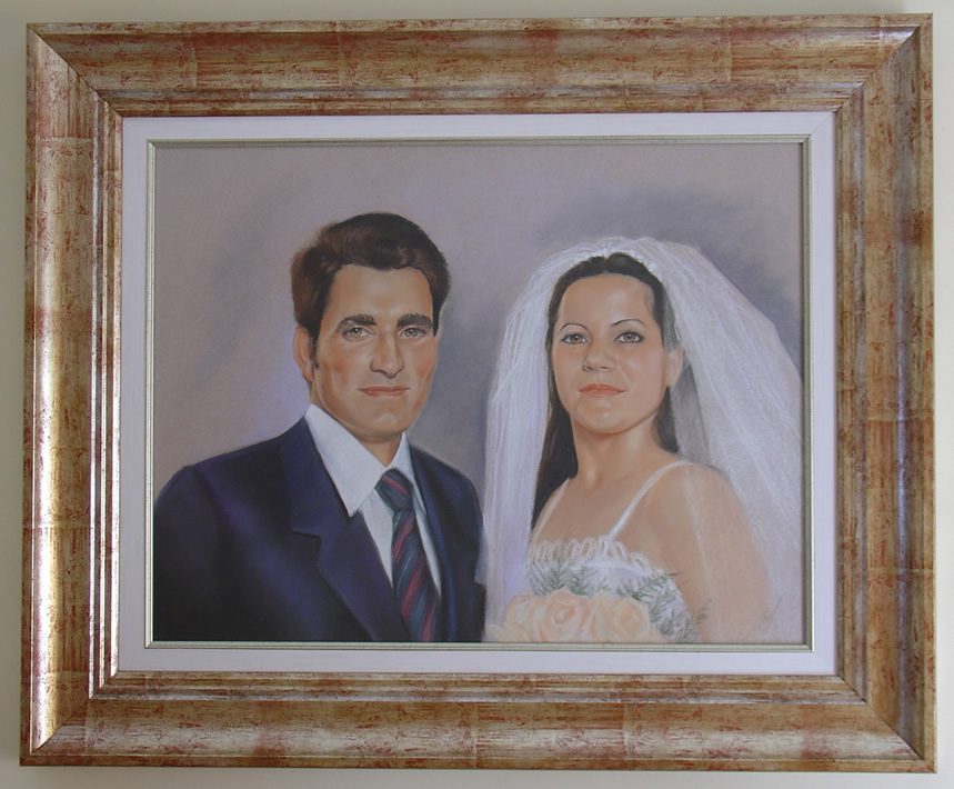 """Jose e Isabel"" -  - Retratos"