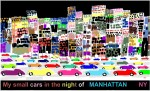 My small cars on the night of Manhattan -  - Elías Alfonso Solano