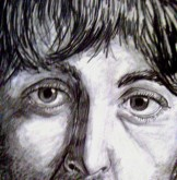 Paul McCartney, lapiz - Javier Coppel - Dibujos 1968 - 1982